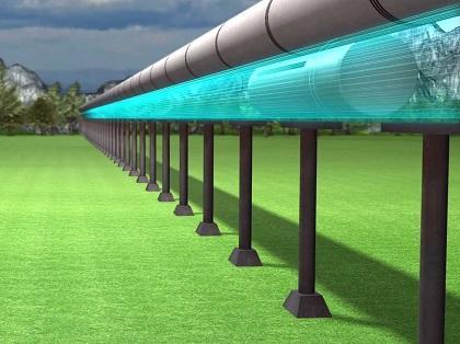 Desvelan el diseño del Hyperloop, un transporte terrestre casi supersónico