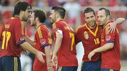 Selección de España llega hoy a Guayaquil