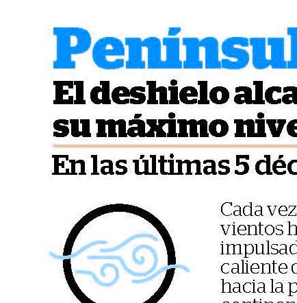2012 BATIÓ RÉCORD EN DESHIELO DE LOS POLOS