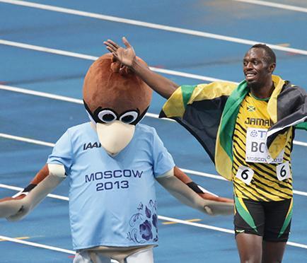 Usain Bolt gana medalla de oro en 100 metros