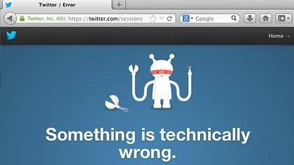 Miles de usuarios registraron problemas para ingresar a Twitter