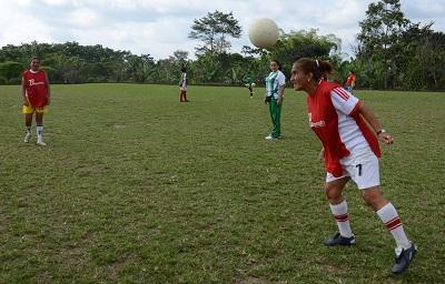 Club femenino Las Palmas empezó pretemporada