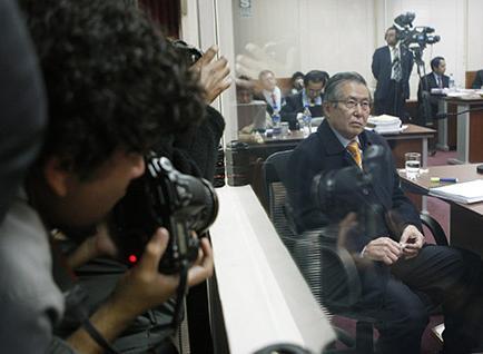 El expresidente peruano Alberto Fujimori solicita arresto domiciliario