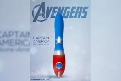 Crean diseños de consoladores de la película 'Los Vengadores'