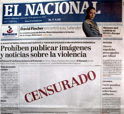 SIP califica de censura la multa impuesta a diarios venezolanos
