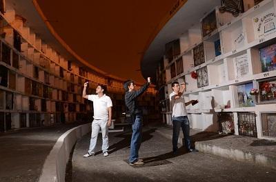 """Dos jóvenes se han unido para impulsar el proyecto """"Tour Paranormal""""."""