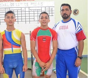 Pesistas manabitas participaron en torneo nacional selectivo