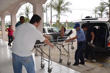 Accidente de tránsito deja doce personas heridas