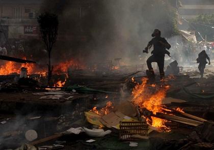 Gobierno egipcio anuncia al menos 149 muertos y 1.403 heridos en disturbios
