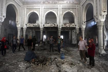 Estados Unidos indignado por violencia en Egipto
