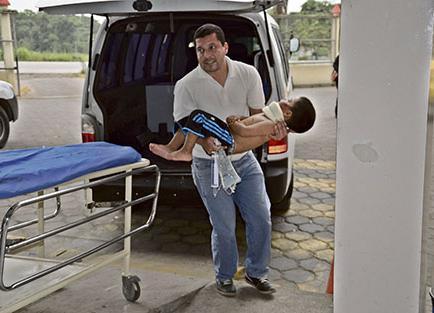 12 heridos en choque