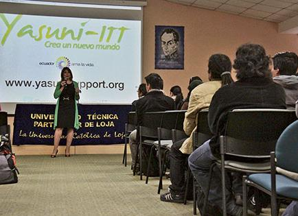 Correa habla sobre Yasuní ITT