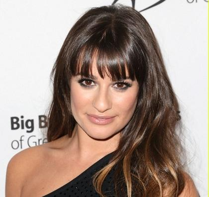 Lea Michele ve películas de Barbra Streisand para superar la muerte de su novio