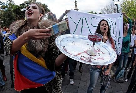 Ecuador anuncia control ambiental durante extracción petrolera en el Yasuní