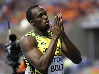 Bolt pasa la primera ronda de 200 en el Mundial de Moscú