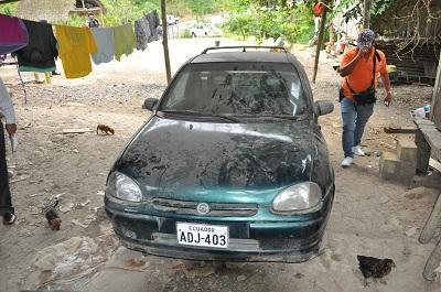 Dos casas de presunto 'Chulquero' fueron allanadas en El Carmen