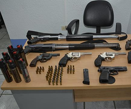 La tenencia de arma de fuego está permitida