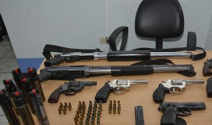 La tenencia de arma de fuego est permitida el diario for Muebles para guardar armas de fuego