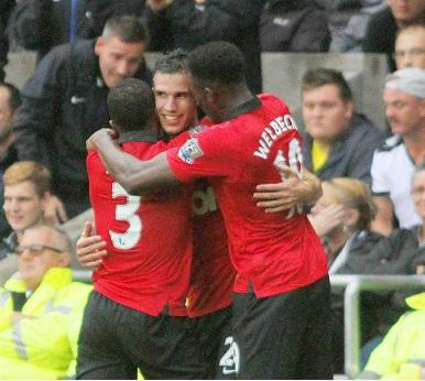 El Manchester United golea 4-1 al Swansea