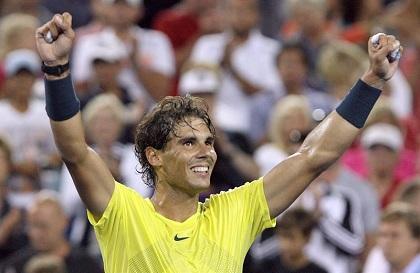 Nadal venció a Federer y pasa a semifinales del Masters 1000 de Cincinnati