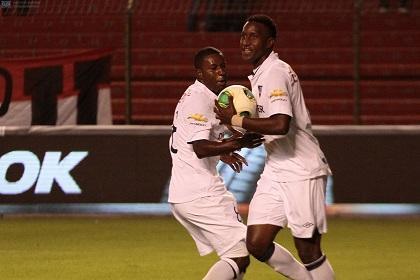 Independiente y Liga de Quito empatan 2-2 en Casa Blanca