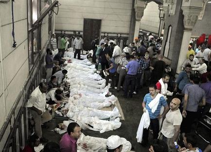 Al menos 173 personas murieron en el 'viernes de ira' en Egipto