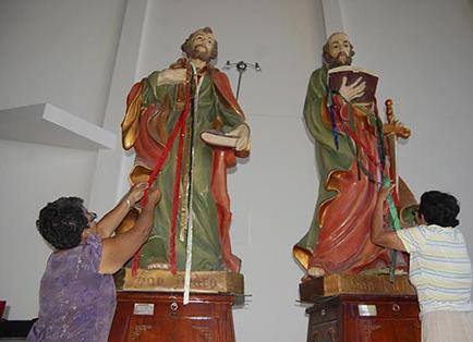 Inician fiestas religiosas de santos Pedro y Pablo