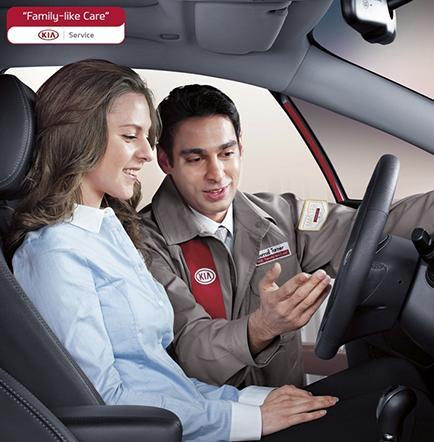 Kia motors promociona servicio