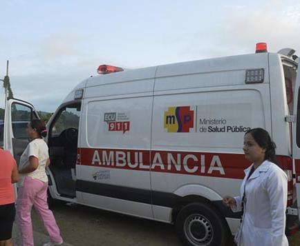Salvan vidas con  nueva ambulancia