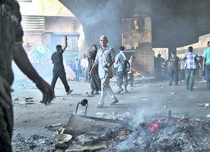 'VIERNES DE LA IRA' SE VIVIÓ EN EGIPTO