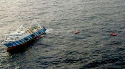 Embarcación peruana fue detenida