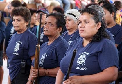 Mujeres mexicanas toman las armas para defenderse del crimen organizado