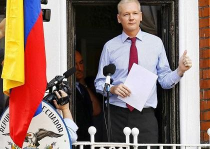 Londres comete 'gravísimo error' al no dar salvoconducto a Assange, dice Patiño
