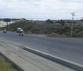 Se registran dos accidentes en la vía Circunvalación
