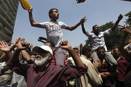 La Unión Europea estudia una respuesta común para la violencia en Egipto