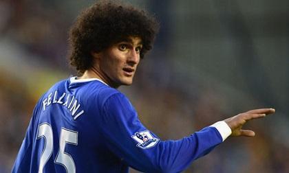 El Everton rechaza ofertas del Manchester United por Fellaini y Baines
