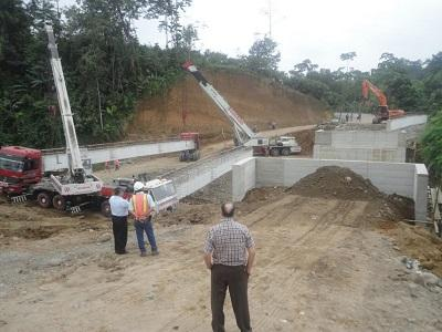 Construirán 8 puentes en el trayecto que comunica a Nuevo Israel con Luz de América