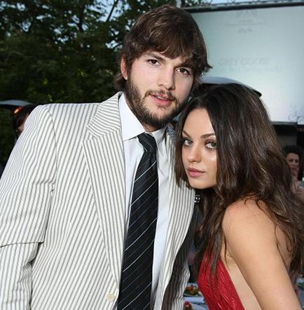 Ashton piensa  casarse con Mila Kunis