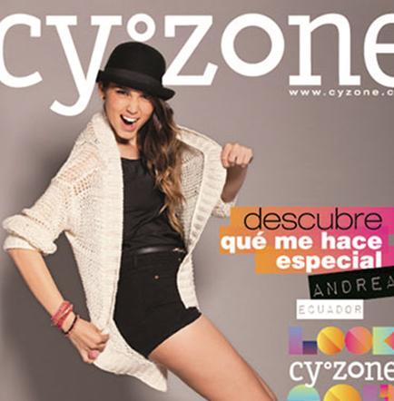 Guayaquileña deslumbra como Chica Look Cyzone