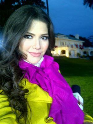 Ex reina 'nuestra belleza latina 2010' se compromete