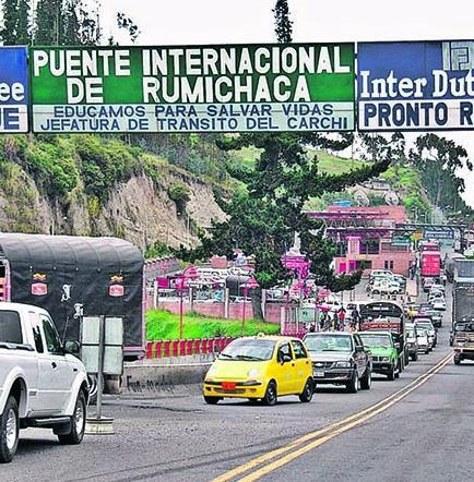Huelga en Colombia afecta a la frontera con Ecuador