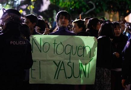 Correa rechaza cooperación e intromisión de Alemania en caso Yasuní ITT