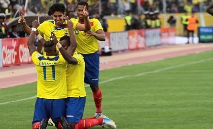Ecuador vs Colombia en vivo