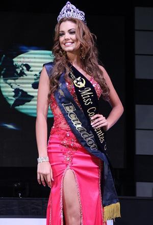 Carolina Aguirre es Miss Continente Unidos 2013