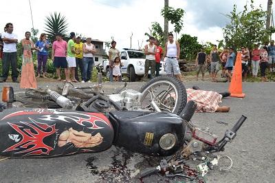 ¡CRÓNICA! Las víctimas de las motos