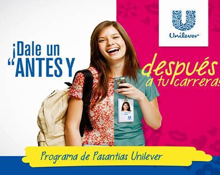 Unilever promociona el plan Pasantías 2014