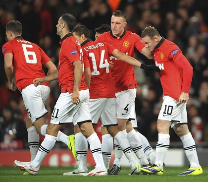 El Manchester United vence 1-0, con 'Toño' Valencia como titular