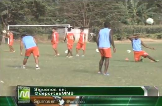 Liga de Portoviejo se enfrenta a Orense en el estadio Reales Tamarindos
