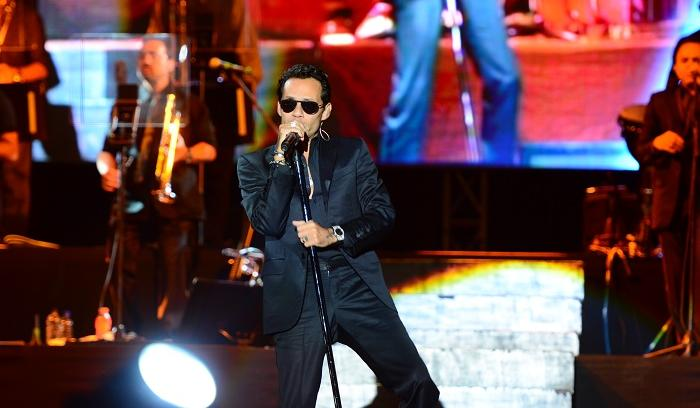 Marc Anthony puso a bailar a Manta