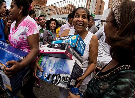 """Saqueo en Venezuela fue """"motivado"""""""